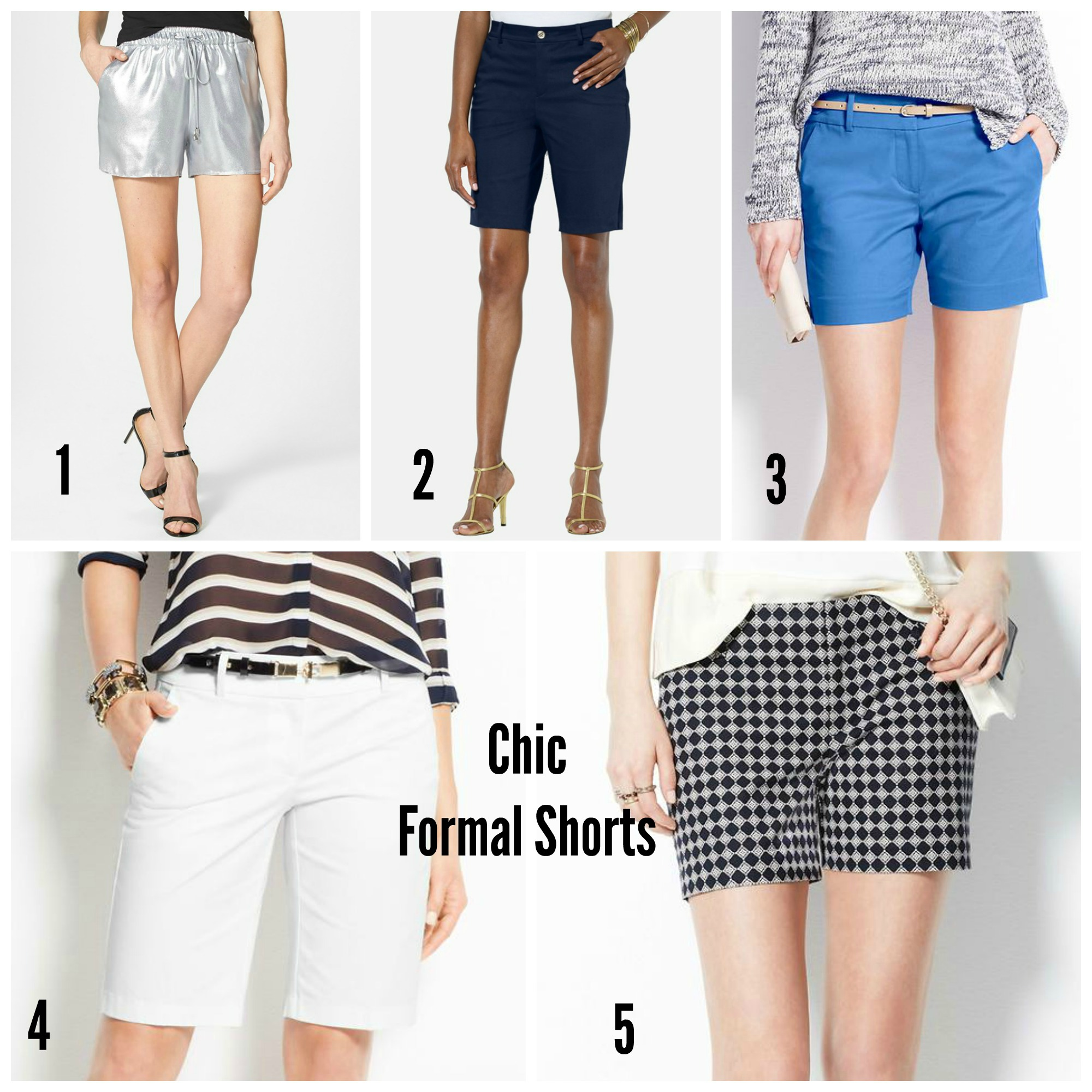 Chic Formal Shorts