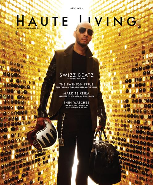 Swizz Beatz for Cover of Haute Living Magazine