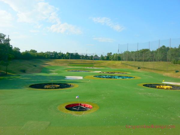 TopGolf Alexandria facility