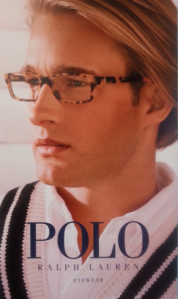 Stylish ophthalmic glasses from Polo Ralph Lauren Eyewear