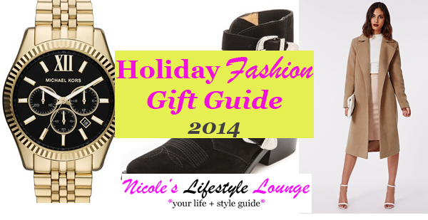 Check out our 2014 Holiday Gift Guide for the style savvy.
