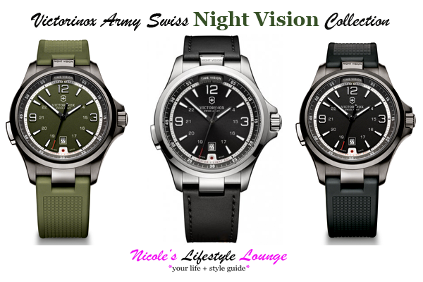 Victorinox Night Vision Watch: The perfect style option for the GQ guy this Christmas