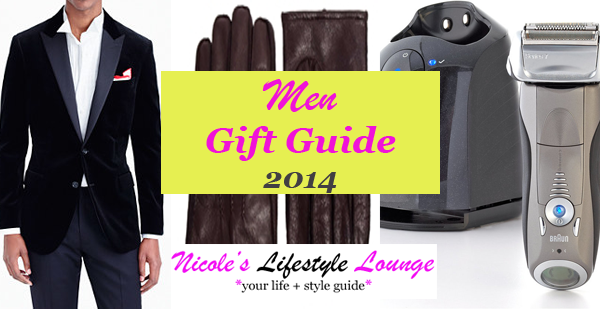 We've just made shopping for the guy in your life easier with our holiday gift guide for him 2014