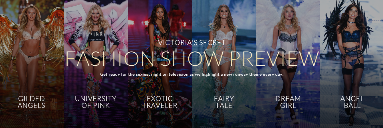Victoria's Secret Fashion Show 2014 themes. #VSFashionShow