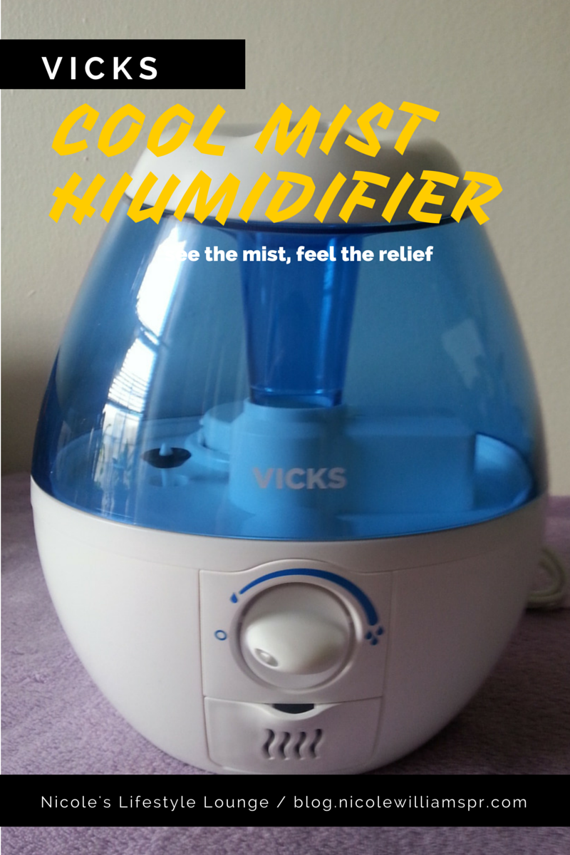 See the mist, and feel the relief with Vicks Cool Mist humidifier. #vickscoolmist