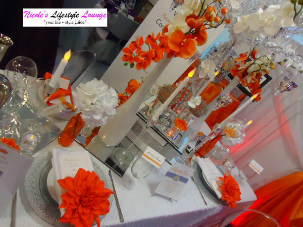 Decor display at the New York Bridal and Quince Expo 2015. #weddingdecor #weddingdesign #eventdesign
