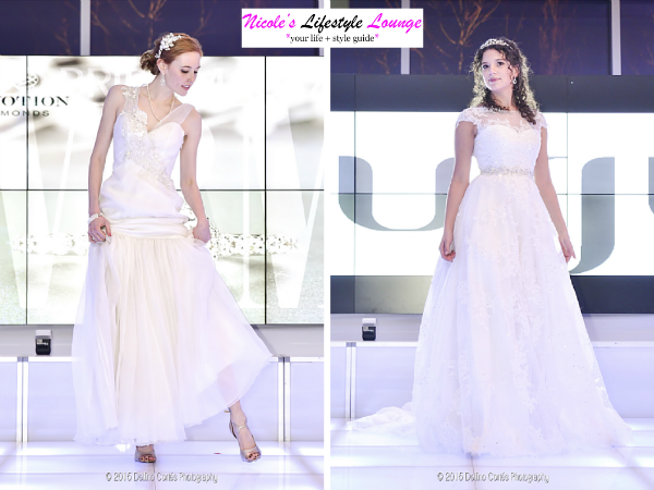New York Bridal and Quince Expo #fashion show followed featuring #wedding, cocktail and evening dresses from @Disney Cinderella Royal Ball collection, Cesar Galindo and Amour #Bridal Gowns.