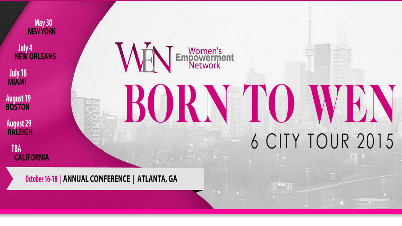 #WEN is that event for women, where we focus on helping them to grow personally, professionally, financially, and spiritually. #LisaNicoleCloud