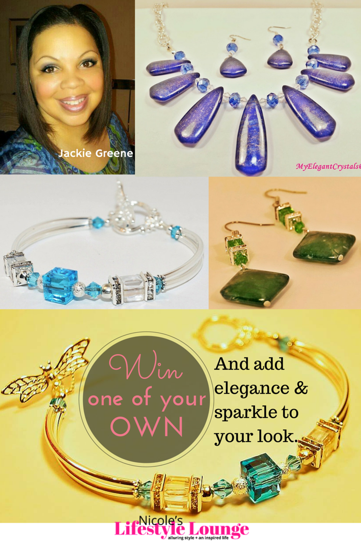 Enter for a chance to win a beautiful handmade MyElegantCyrstals #jewelry. #giveaway #contest #sweepstakes