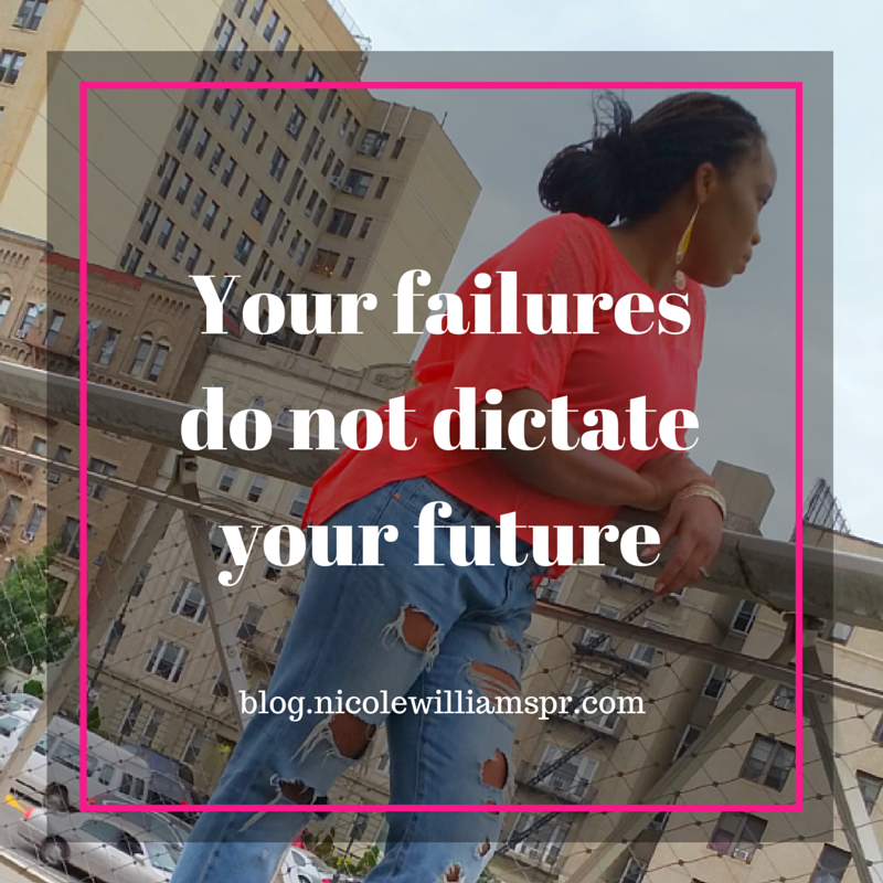Always remember your failures do not dictate your future. #liveyourtruth