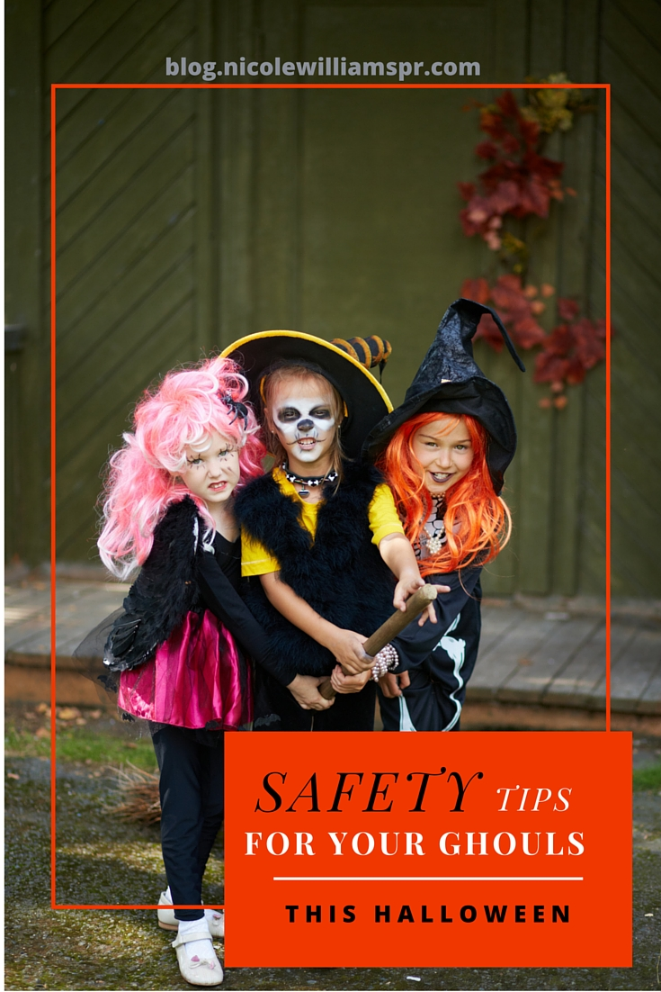 Safety tips to snsure that this Halloween is a fun treat and not a sour trick. #trickortreat
