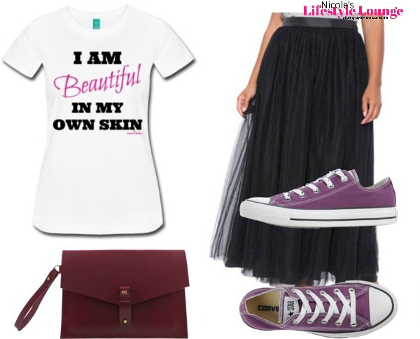 Graphic Tee + Tulle Skirt: Graphic tees are the new way to make a bold statement. #fashion