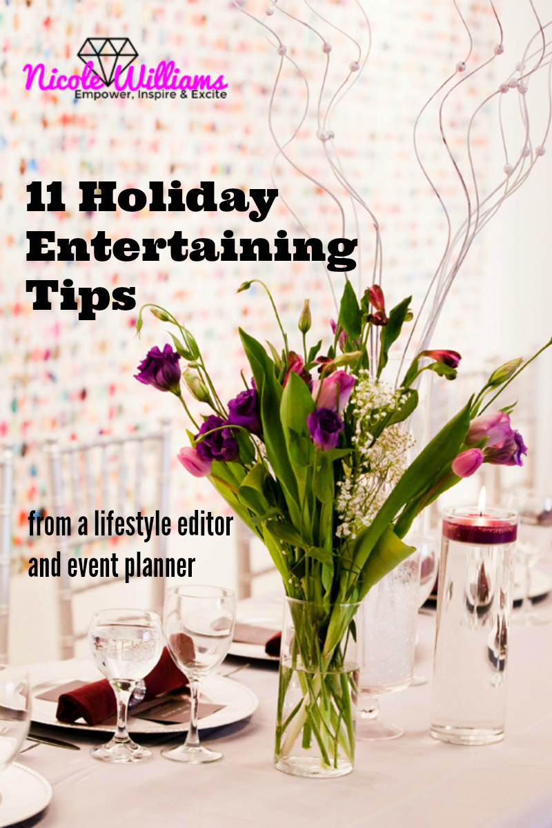 Holiday Entertaining Tips: practical, proven and headache-free tips are sure to help you save while still being the ultimate host.