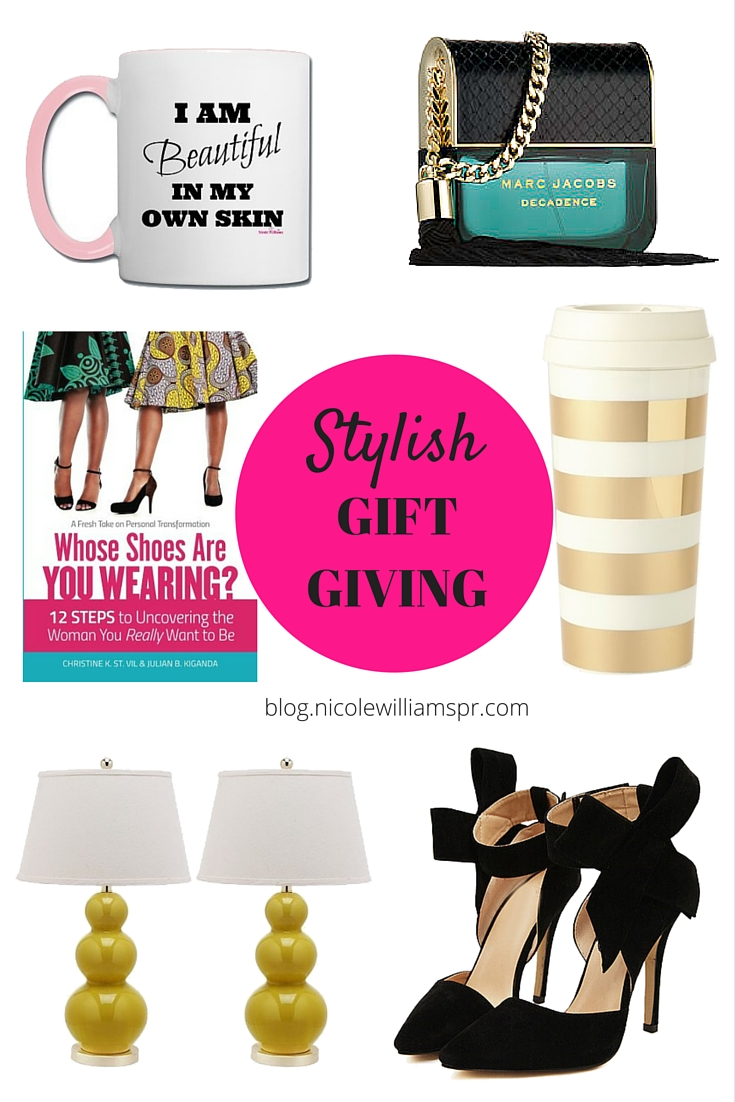 Stylish gift ideas worth giving this holiday season. #giftguide #giftgiving