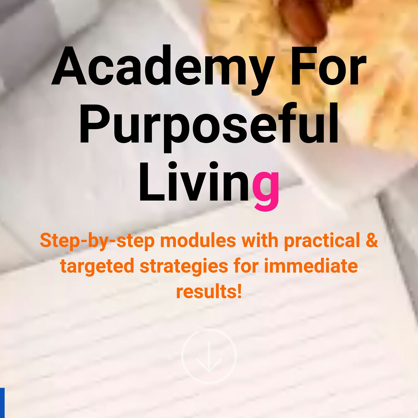 online courses for purpose-driven women.
