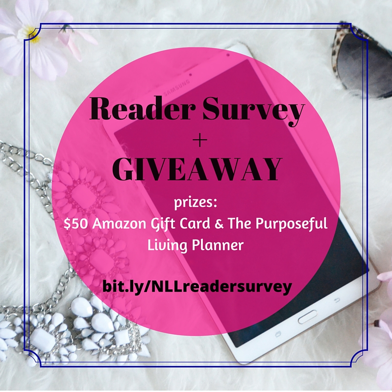 Plus when you complete the reader survey, you will also be entered to win one of two prizes. #giveaway #readersurvey
