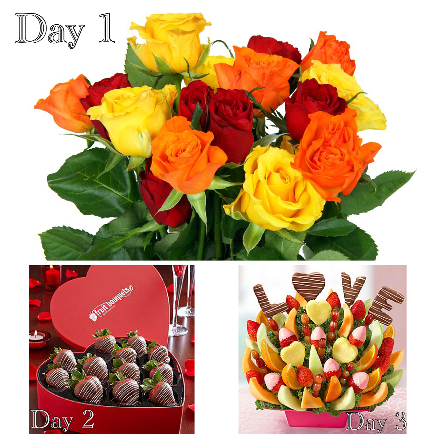 Three Days of Surprises Valentine's Special
