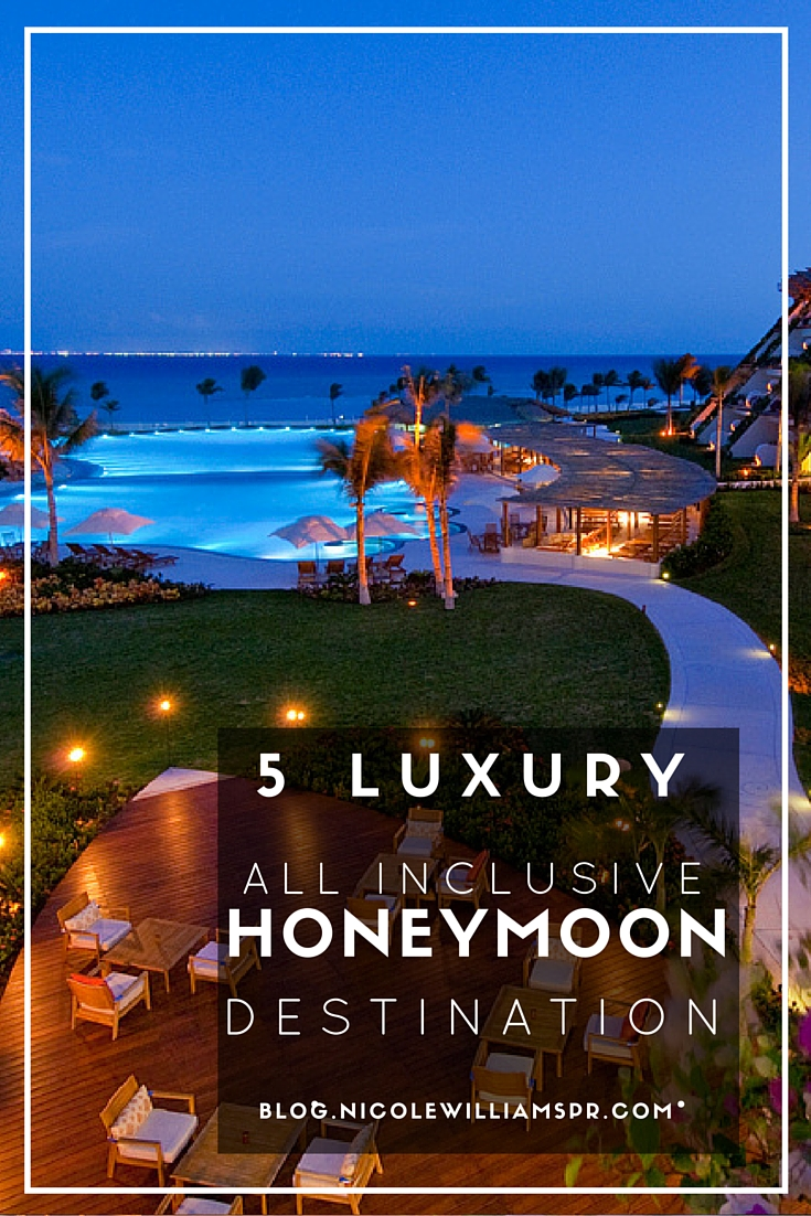 5 honeymoon destinations that will make your once-in-a-lifetime vacation memorable for all the right reasons. #travel #vacation #honeymoondestination