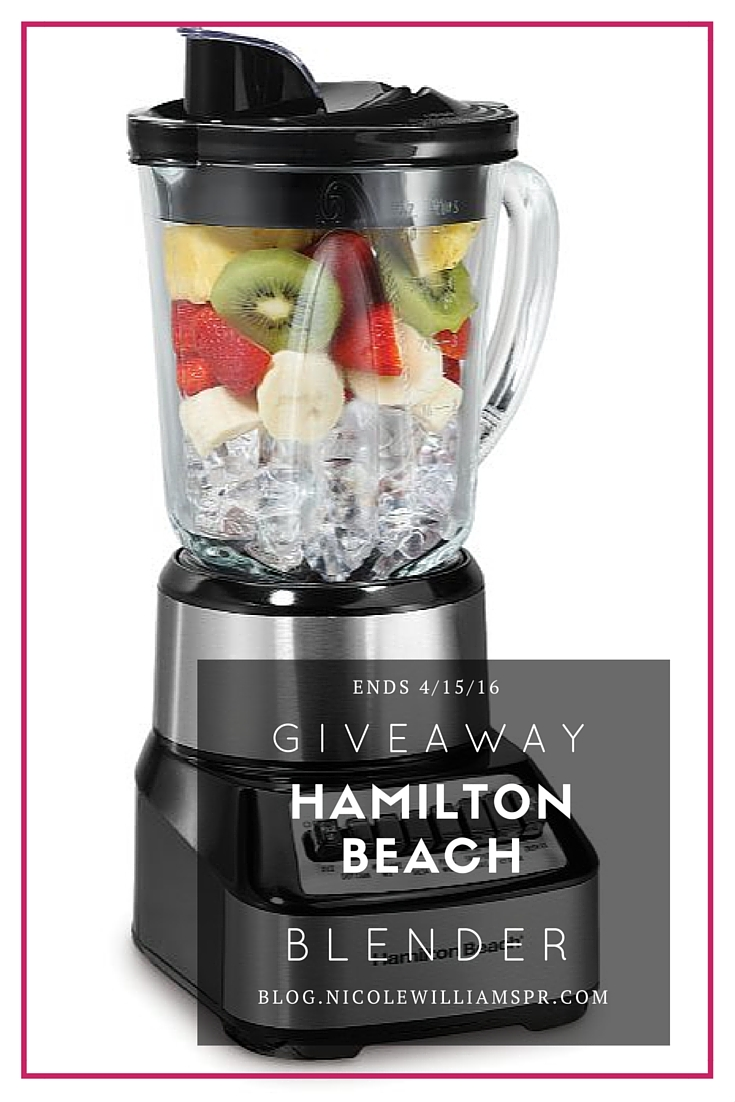 Calling all #smoothie lovers! Win a Hamilton Beach 14 function, 700 watts, thermal resistant #nllcontest