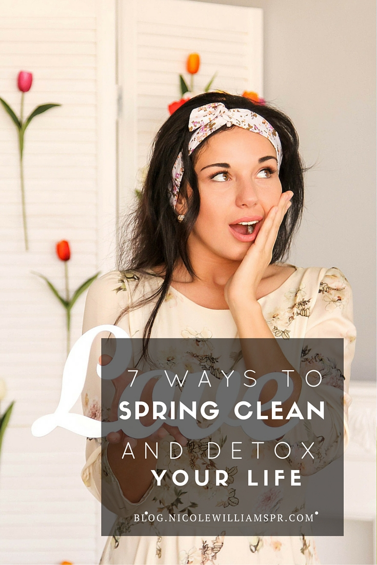 Here are a few other ways to spring clean your life to bring fresh perspective and new insights.