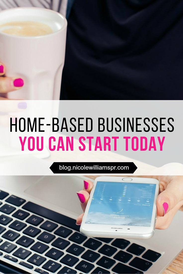 here's a list of business ideas you can start while still at your 9-to-5. #homebasedbusiness #sidehustleideas #finance