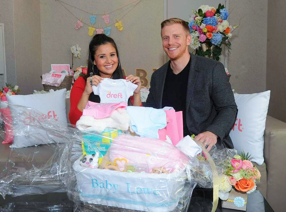 "Dreft, who threw the couple a ""Loads of Love"" baby shower with all the essential registry must haves. #amazinghood"