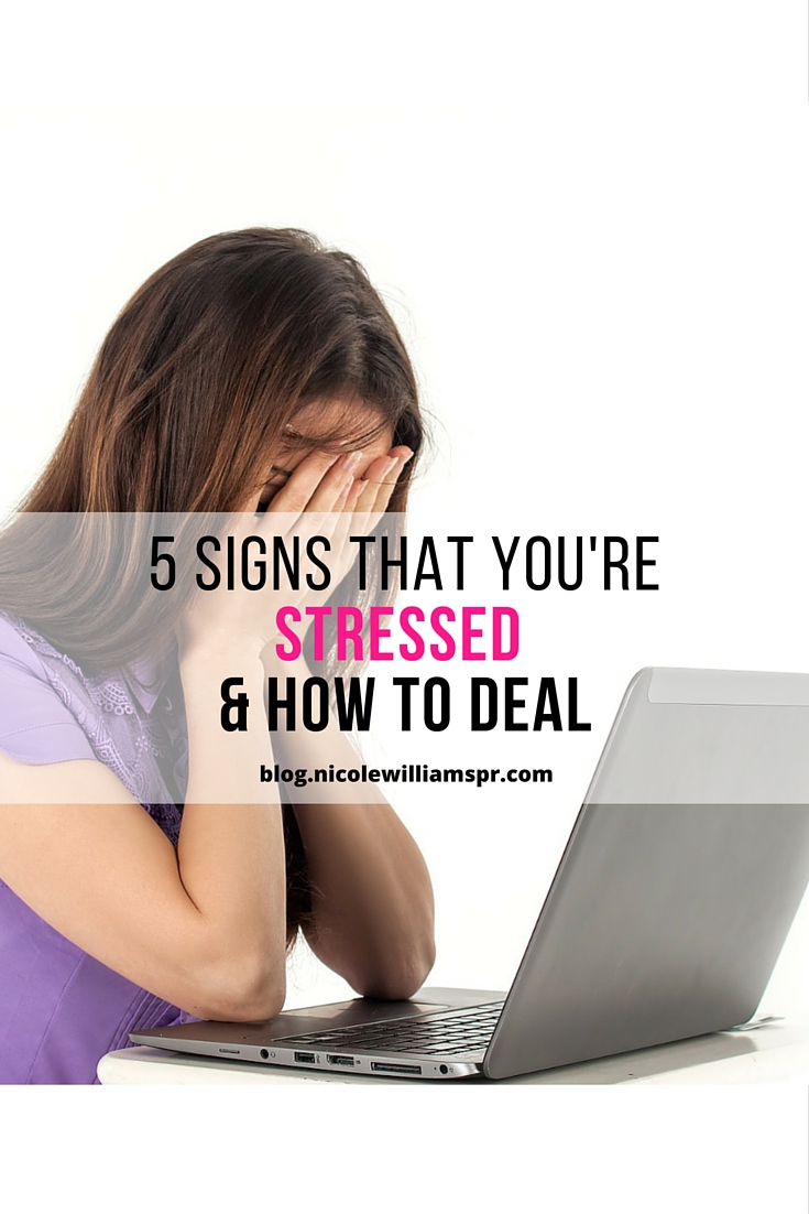 Be aware of the red flags and the warning signs that you are stressed. #mentalhealth