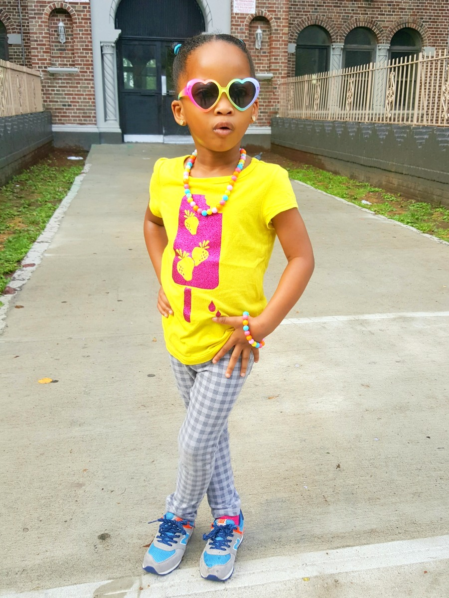 Toddler style: I try to keep her stylish yet comfortable. #kidstyle