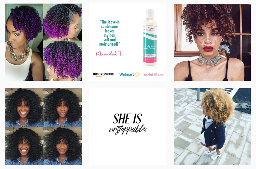 Curly and natural hair profiles on Instagram to provide endless hair inspiration. #hair #naturalhair