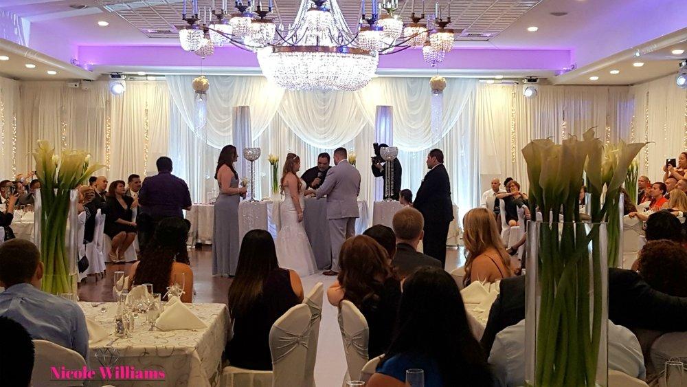 An Intimate Brooklyn Wedding At Princess Manor. #weddings