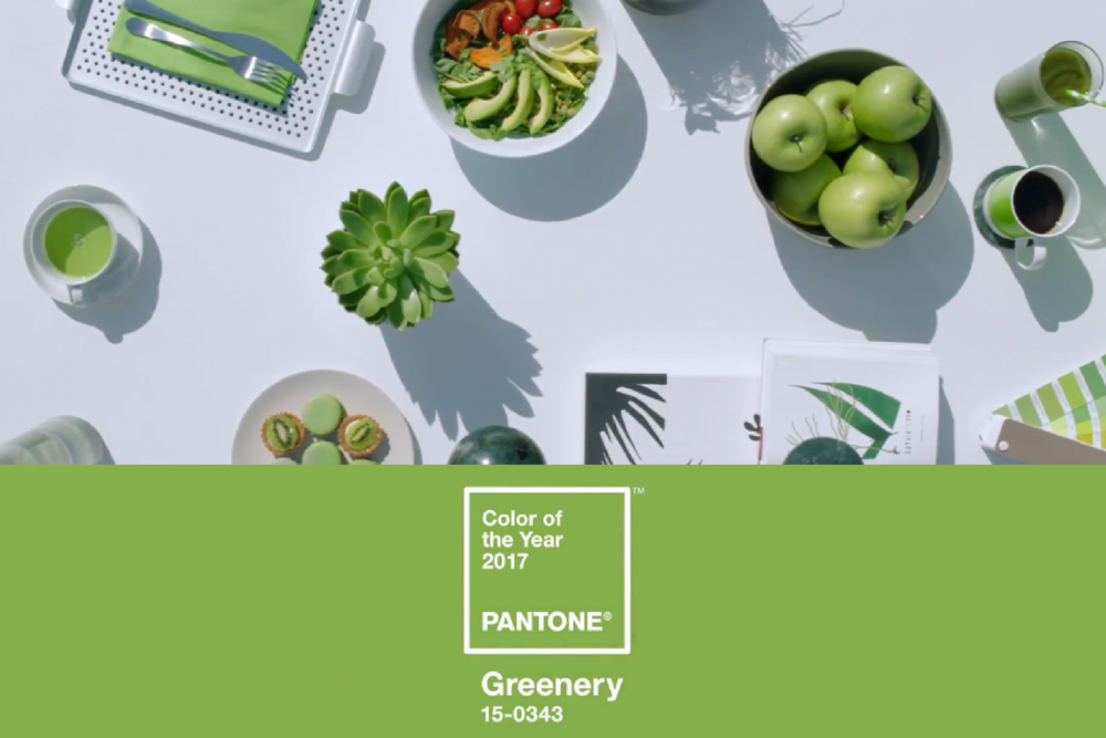 "Explore ""Greenery"": Pantone 2017 Color of the Year"