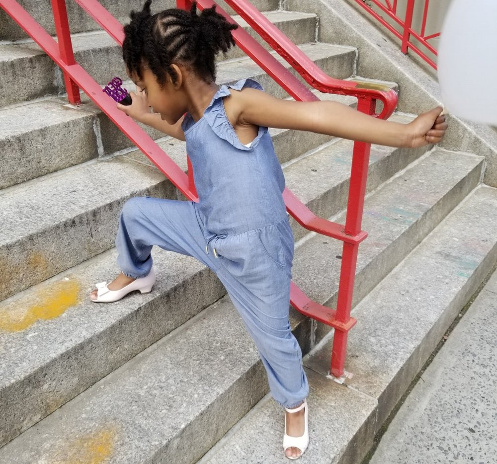 H&M Chambray Jumpsuit