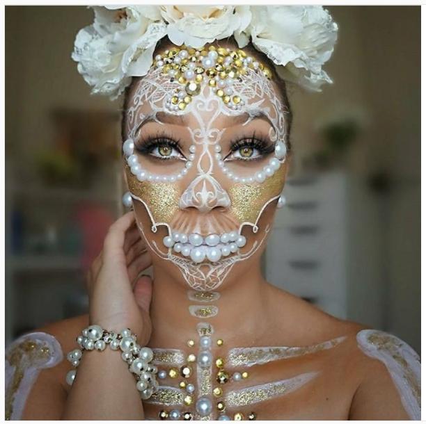 Spooktacular Halloween Makeup Instagram — Nicole's Lifestyle
