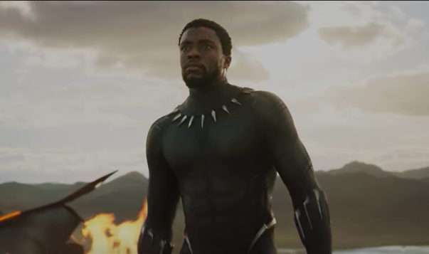 Chadwick Boseman as T'Challa (Black Panther) in in Black Panther. Photo: Marvel (in-video screenshot).
