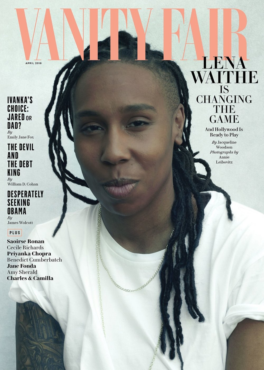"Credit: Lena Waithe on the April cover of ""Vanity Fair."" Photo:  @vanityfair /Instagram"