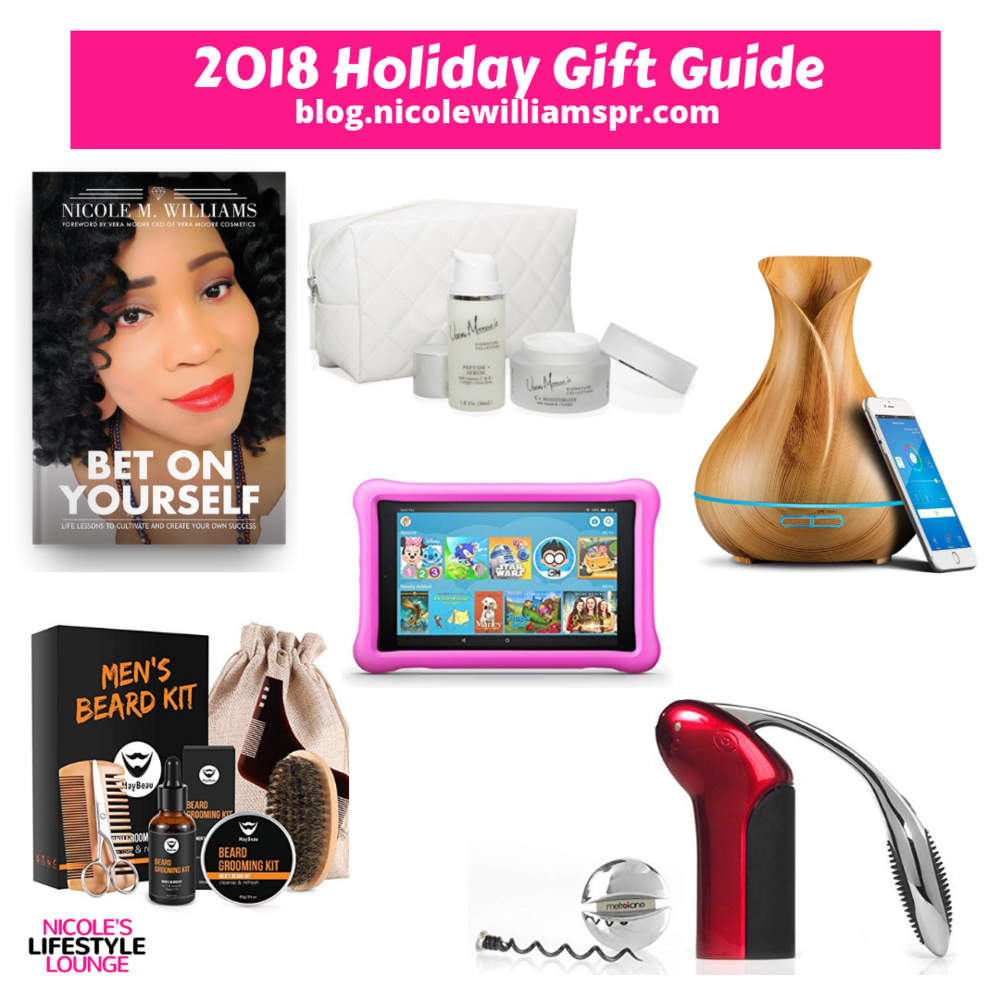 Holiday #GiftGuide 2018