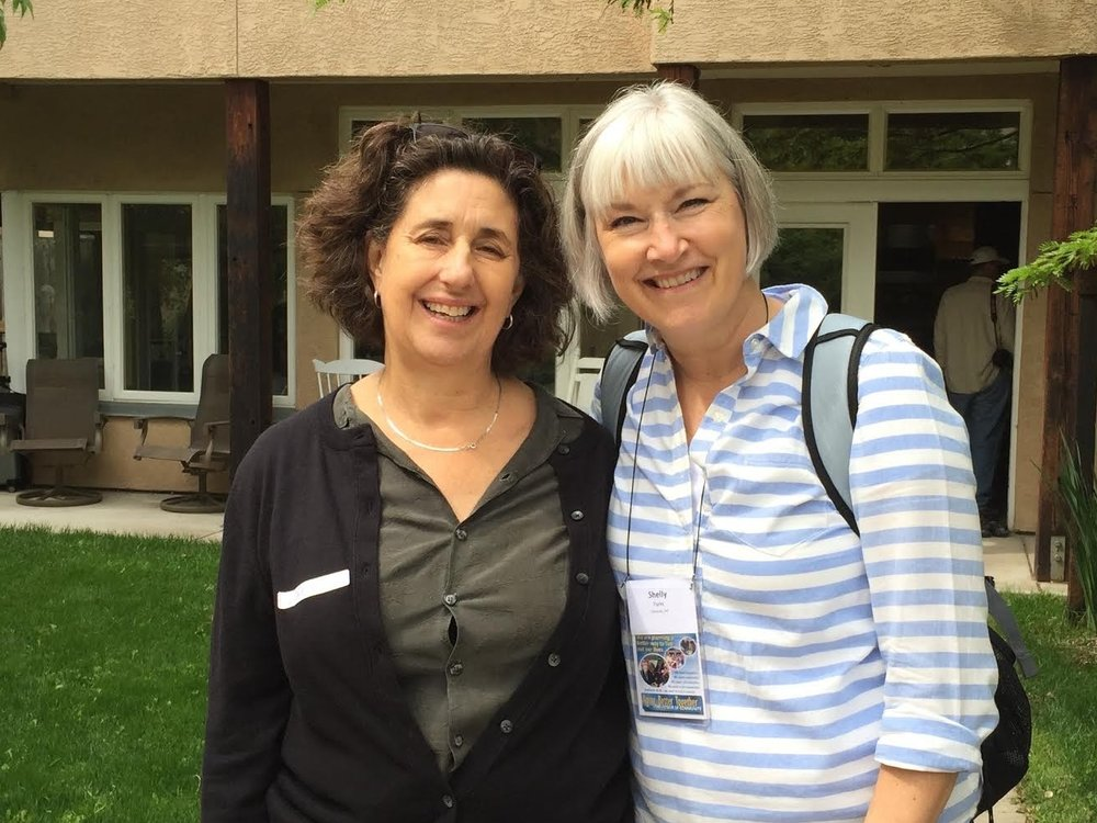 Shelly with Katie McCamant, President of Cohousing Solutions
