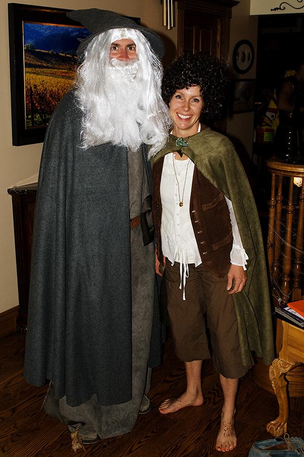 gandalf costume, frodo costume