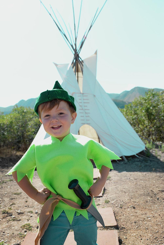 Peter at Indian Camp.