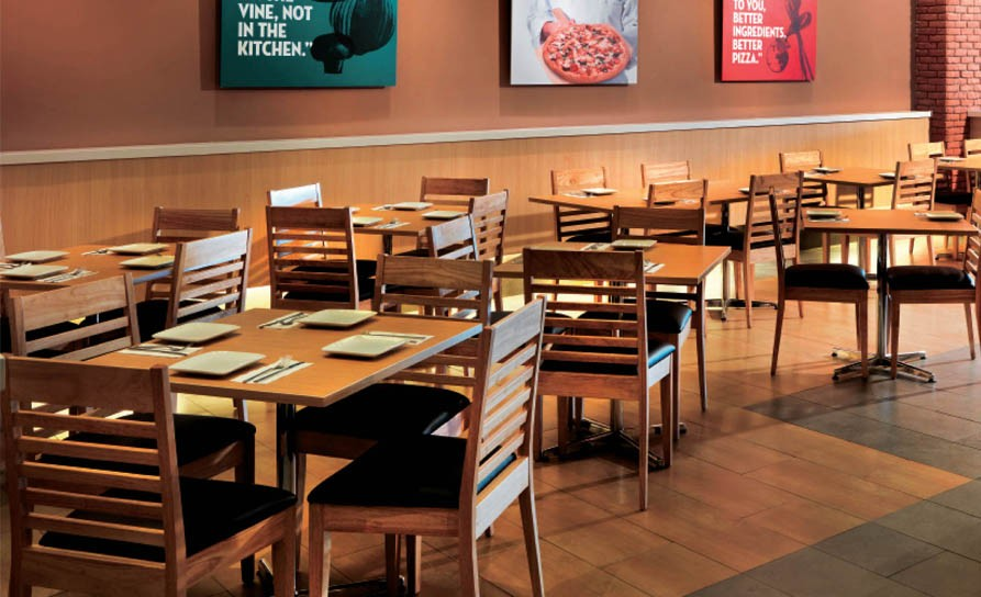 Papa Johnu0027s Pizza | Quel International | Hospitality U0026 Commercial Furniture