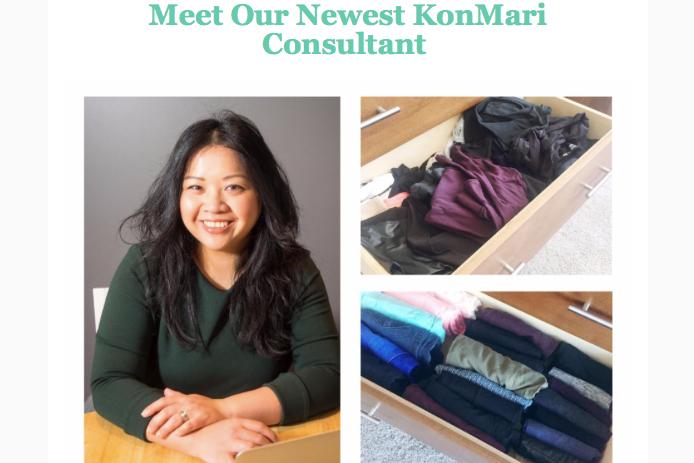 KonMari Newsletter: Meet Our Newest KonMari Consultant Helen Youn, Calgary Canada