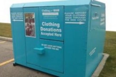 Clothing for a Cause Donation Bin