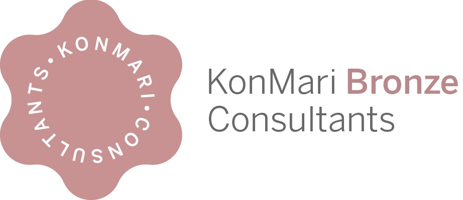 KonMari Bronze Consultant logo