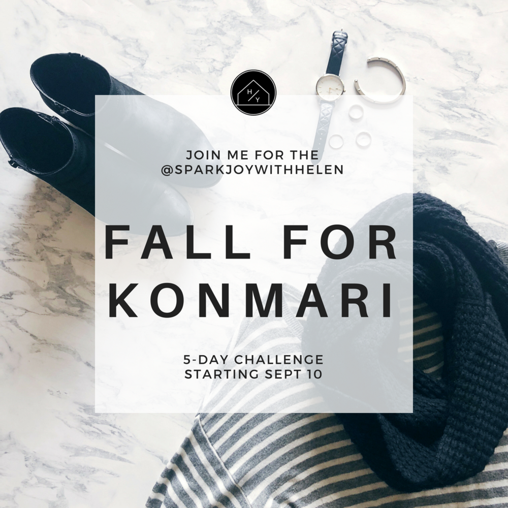 Fall for KonMari 5-Day Free Challenge