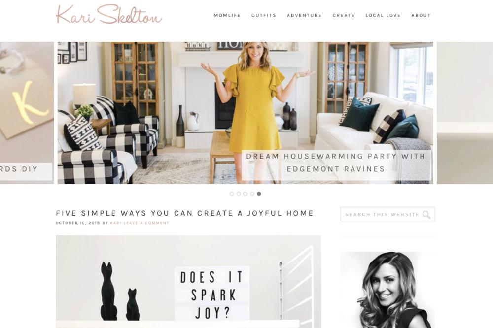 Kari Skelton Blog