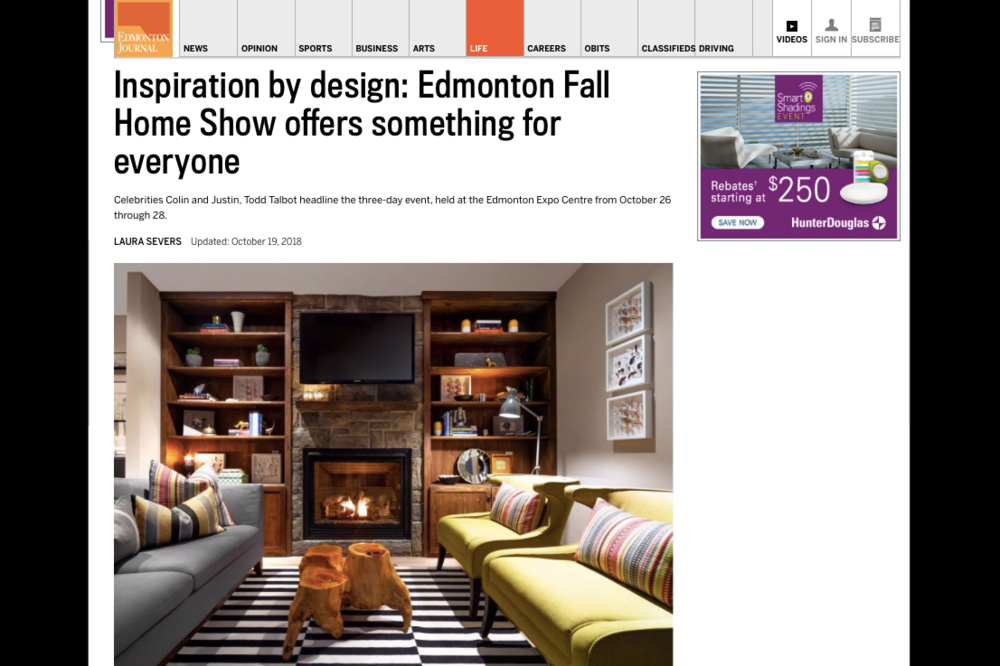 Edmonton Fall Home Show offers something for everyone.