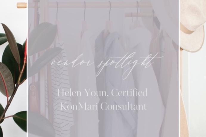 Jacqueline Rae Weddings - Vendor Spotlight - Helen Youn, Certified KonMari Consultant