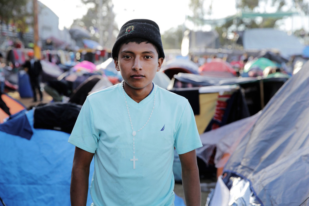"""""""Has any other word in 2018 been as responsible for so much as """"caravan""""?    By definition, a caravan is a company of people traveling through a hostile region. You travel in a caravan for protection. When you feel powerless, traveling in a group gives you some sense of power. But there is no protecting the caravan of migrants who have journeyed to Donald Trump's America."""""""