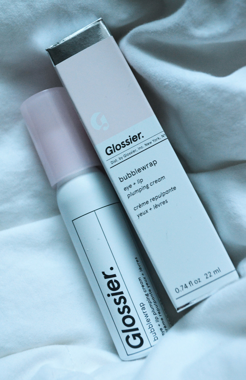 Review: Glossier Bubblewrap Eye + Lip Plumping Cream — Coffee With Annie
