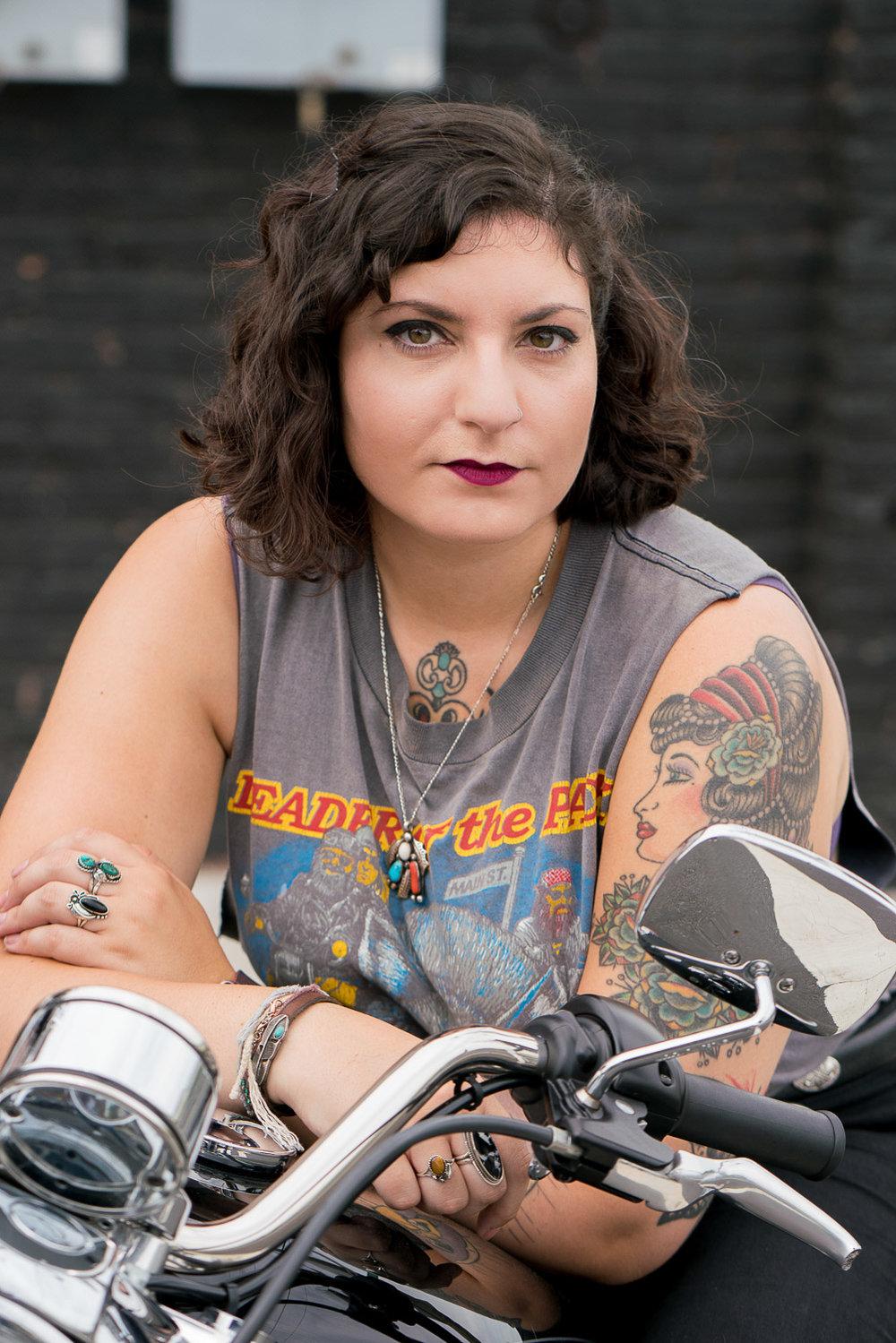 style photographer motorcyle